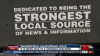 Bakersfield Californian Sold