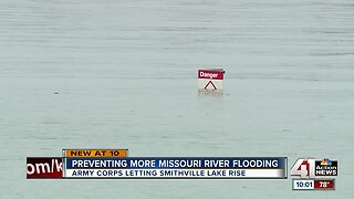 Increased water levels at Smithville Lake could help limit flooding