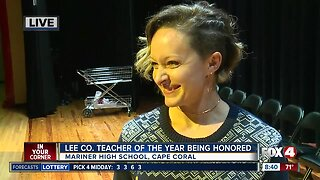 Mariner High art teacher named Lee County Teacher of the Year