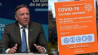 Voici à quoi pourrait ressembler le couvre-feu au Québec
