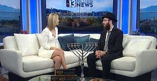 Local Rabbi shares upcoming Hanukkah events in Vegas
