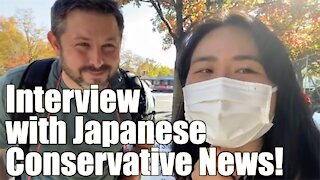 Interview with Japanese Conservative News!