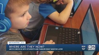 Families adjust to school during COVID-19