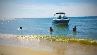 Blasian Babies Family Boat Beach!