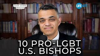 America's top 10 homosexuality-promoting Catholic bishops