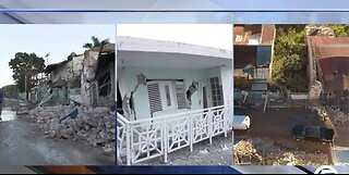 Locals react to deadly earthquake in Puerto Rico