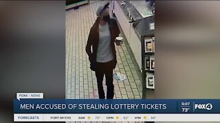 Suspects accused of stealing lottery tickets