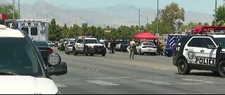 LVMPD investigating officer-involved shooting