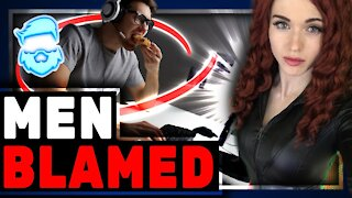 """Amouranth BLAMES Gamers For Her Twitch Ban & Calls Them """"Creepy"""" While Calling Herself A Hero"""