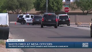 Shots fired at Mesa officers while searching for stolen car suspect