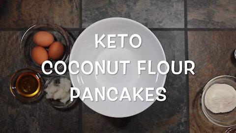 keto pancakes coconut flour