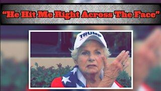 Man Allegedly Attacks 84-Yr-Old Women Trump Supporter