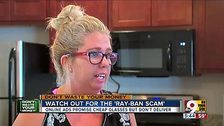 Watch out for 'Ray-Ban' scam