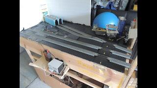 Model Train Layout Update 1/19/2021