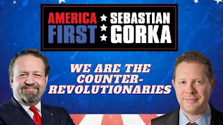 We are the counter-revolutionaries. Bruce Abramson with Sebastian Gorka on AMERICA First
