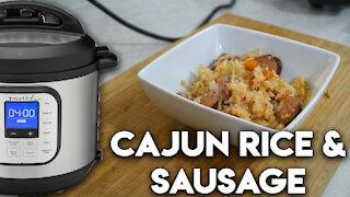 Instant Pot Wednesdays: Perfect Sausage Cajun Rice