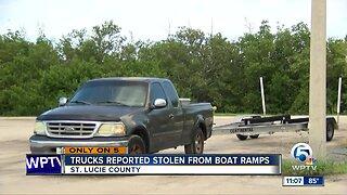 Boats stolen