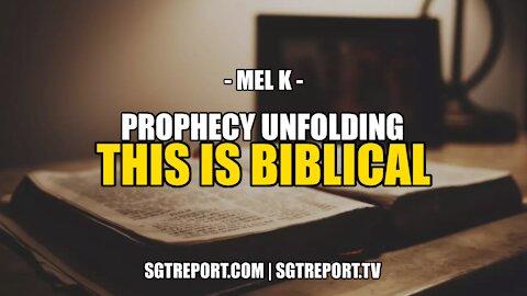 THIS IS BIBLICAL -- MEL K