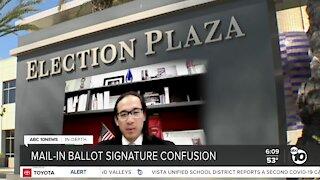 In Depth: Mail-In Ballot Signature Confusion