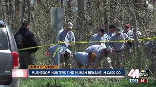 Human remains found in Cass County