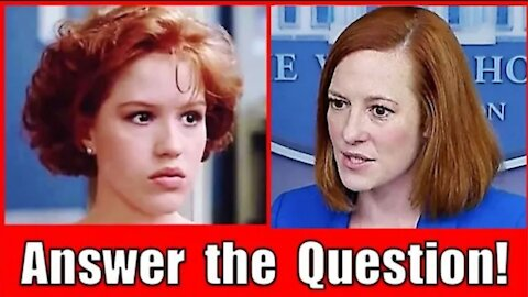 Circle Back Psaki Strikes Again - Can't Answer the Question (Just Answer the Question Claire!)