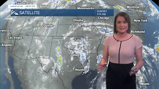 Some Showers & Storms for Sunday