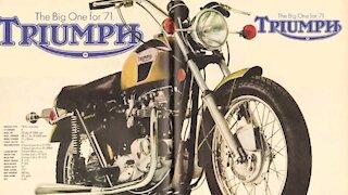 1971 Triumph Bonneville 650cc restoration