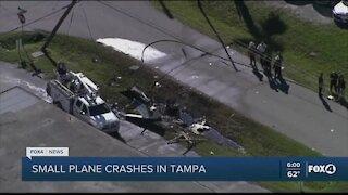 Plane crash in Tampa