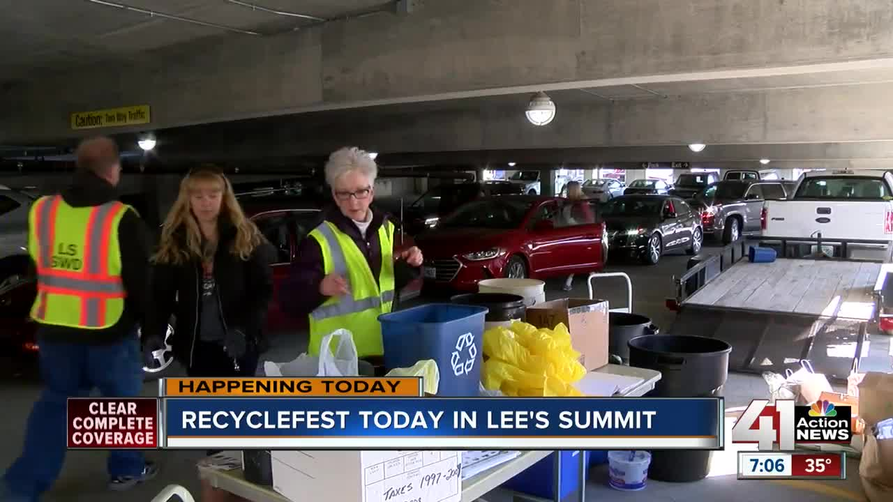 RecycleFest available for Lee's Summit residents