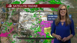 Saturday night forecast: strong storms