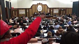 UPDATE 4 - Nelson Mandela Bay Mayor Trollip removed, UDM's Bobani elected (x2o)