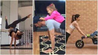 Avere figli e allenarsi è impossibile? Non sempre!