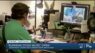 We're Open Green Country: Running Dogs Music Offers Virtual Lessons Amid Pandemic