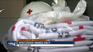 Wisconsin Red Cross volunteers are off to help with Hurricane Florence