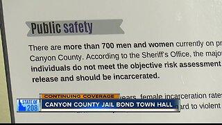 Canyon County jail bond town hall meeting