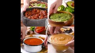 4 Mexican sauces