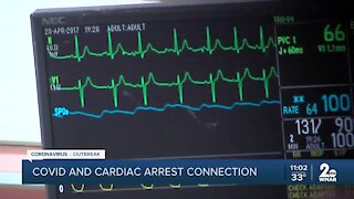 COVID-19 and cardiac arrest connected?