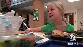 Students test new school menu items