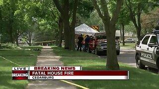 1 killed, 1 injured in Cedarburg house fire