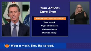 Newsom: Your actions save lives