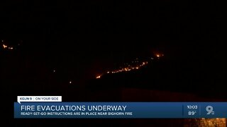 Bighorn Fire grows to 6,200 acres at 1o percent containment