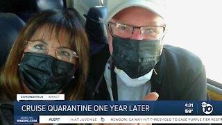 Cruise quarantine one year later