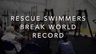 Coast Guard rescue swimmers hold world record title