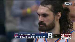 Steven Adams Hits Game-Winning Free Throw, Gives Hilarious Postgame Interview