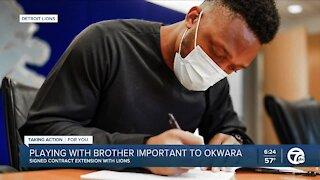 Lions DE Romeo Okwara signs contract extension