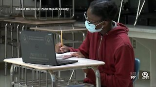 More Palm Beach County students return to in-person learning
