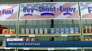 Fireworks shortage affecting local business