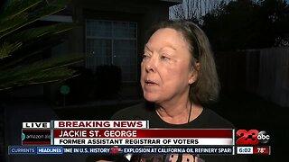 Former assistant registrar of voters speaks out