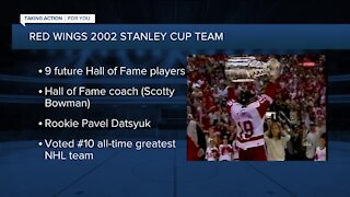 Remembering the 2002 Red Wings Stanley Cup win 19 years later
