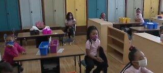 Detroit school reopens learning center